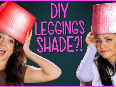 DIY Leggings Lamp Shades?! | Niki and Gabi DIY or DI-Don't