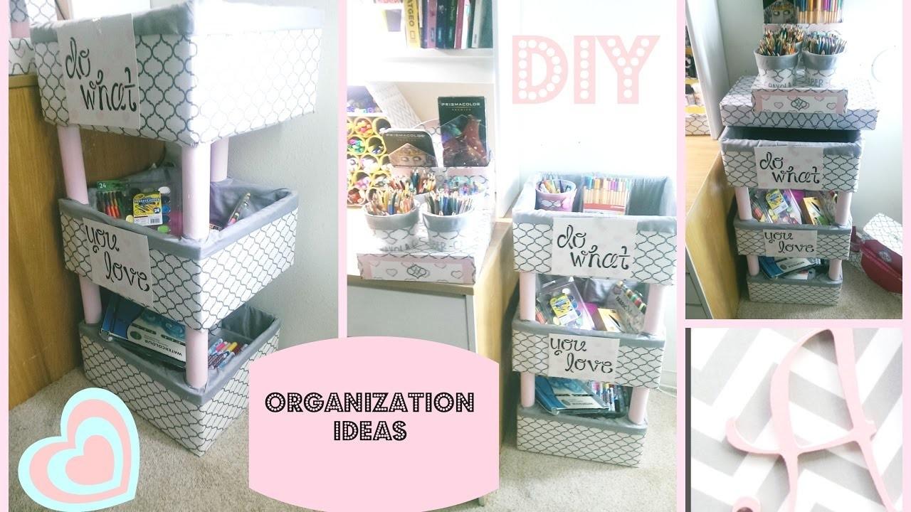 DIY Markers Organizer  - Back To School - CARDBOARD IDEAS  - My Raskog IKEA Idea ( 2- 30)
