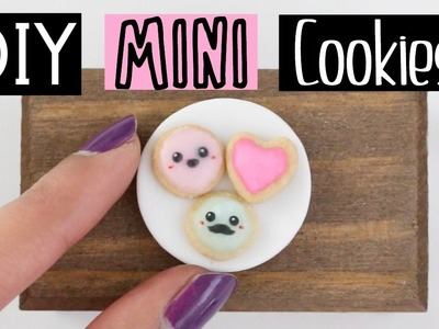 DIY MINI EDIBLE COOKIES - World's Smallest Cookies!