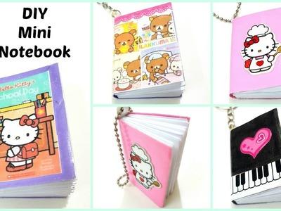 DIY Mini Notebooks.DIY Miniature books.Diy Mini Notebook Keychain
