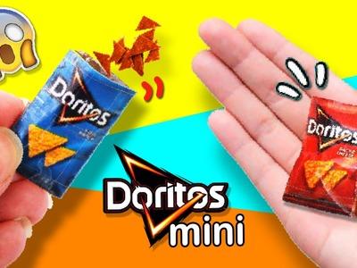 DIY MINIATURE DORITOS ???? How to make MINI DORITOS ????