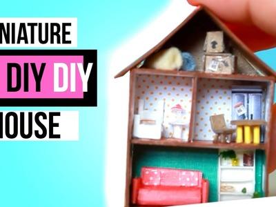 DIY Miniature House TUTORIAL