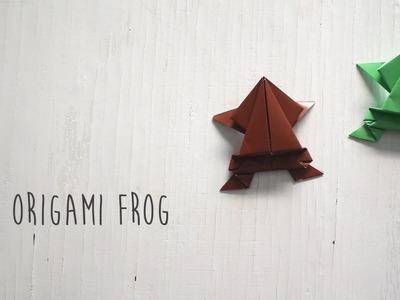 DIY: Origami Frog