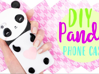 ☆ DIY PANDA PHONE CASE! - Cute & Easy! ☆