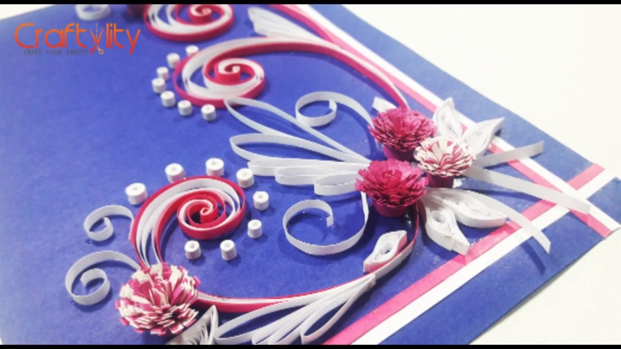 Diy Paper Quilling Cards Tutorial How To Make Paper Quilling