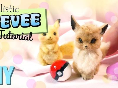 DIY Pet Eevee Tutorial. Miniature Pokemon