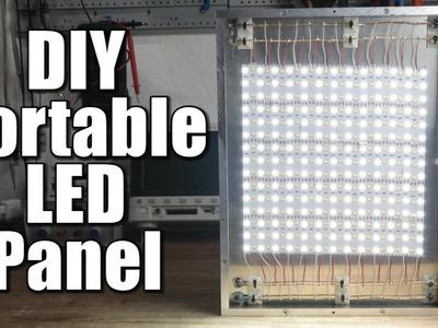 DIY Portable LED Panel (Part 1) - the mechanical build