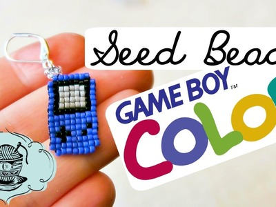 DIY Seed Bead GAME BOY Color!. Bead Weaving. ¦ The Corner of Craft