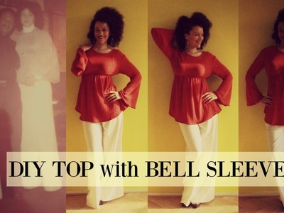 DIY Top with Bell Sleeves | ???????? Amdjer de Nôs Terra ???????? | #CABOVERDETANAMODA