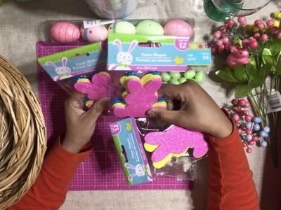 Dollar Tree ???? Craft Haul Video - Easter Goodies