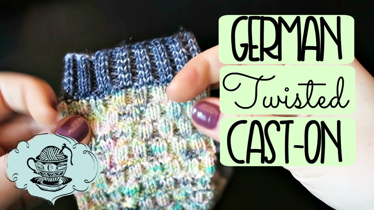 German Twisted Cast On   Quick Knit Tips   U00a6 The Corner Of