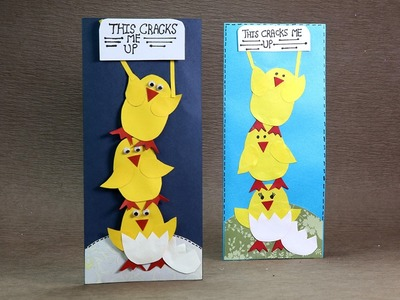 Homemade Easter Greeting Card - DIY Easter Chick Card Tutorial