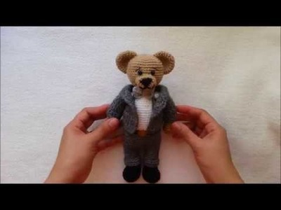 HOW TO CROCHET SUIT. MARRIED BEAR CROCHET