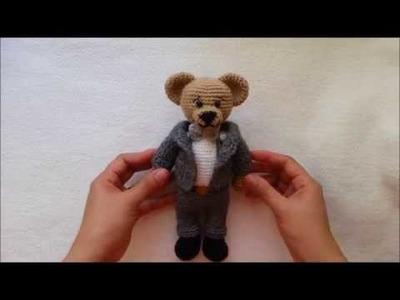 HOW TO CROCHET SUIT. MARRIED BEAR CROCHET