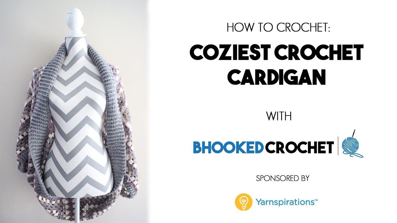 How To Crochet the Coziest Crochet Cardigan