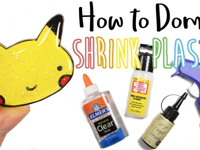 How to DIY Doming Shrink Plastic Tutorial: Success or Fail
