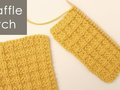 The Tunisian Ocean Stitch:: Tunisian Crochet Stitch #12 :: Left Handed, My Cr...
