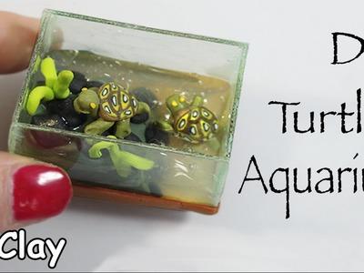 How to make a Miniature Aquarium with turtles.