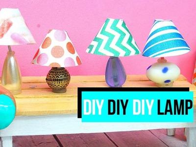 How to make a miniature lamp | Dollhouse DIY