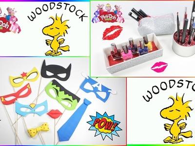 How To Make DIY COMPILATION | Makeup Organizer | WOODSTOCK 3D Creations