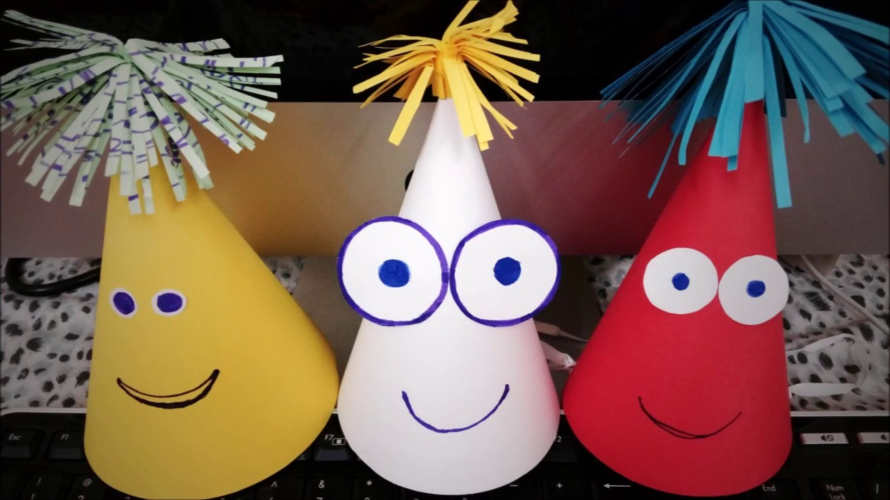 How to make kids party hat