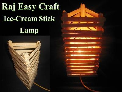 How to make new Ice Criam stick Lamp making.raj easy craft