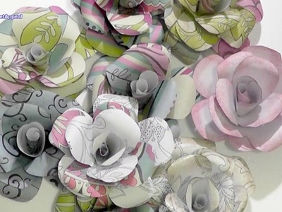HOW TO MAKE PAPER ROSES | DIY FLOWERS