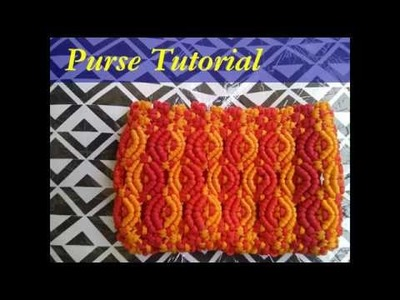 Macrame Purse DIY Complete Tutorial