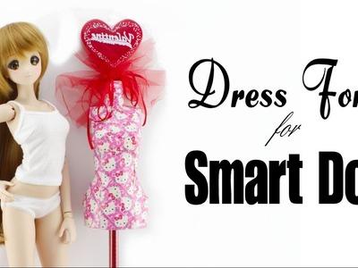 ???? Making a DRESS FORM for Smart Doll ❤️ DarlingDolls Miniature DIY