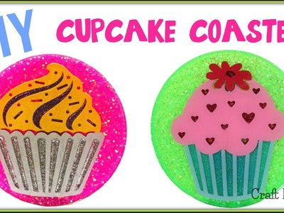 Resin Cupcake Coasters | DIY Projects | Another Coaster Friday | Craft Klatch | How To