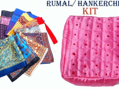 Rumal. handkerchief holding kit DIY | A must to secure all handkerchief's at a place