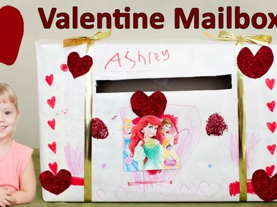 Valentines Day Mailbox for Kids! - Craft Time with Ashley
