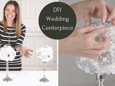 Wedding Centerpiece Tutorial | DIY Wedding Decorations | DIY Wedding Centerpiece