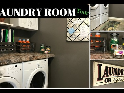 DIY Laundry Room Ideas | How to decorate small space