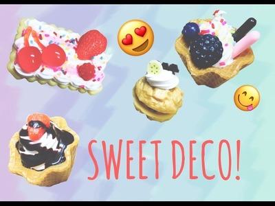 [DIY Sweet Deco] Watch me Sweet Deco!