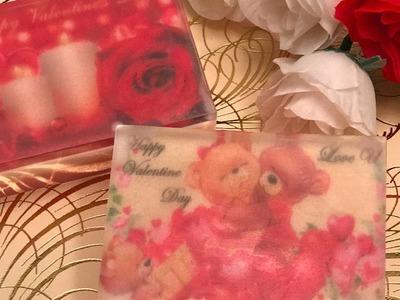 DIY: VALENTINE'S DAY SOAP   MELT&POUR SOAP TUTORIAL