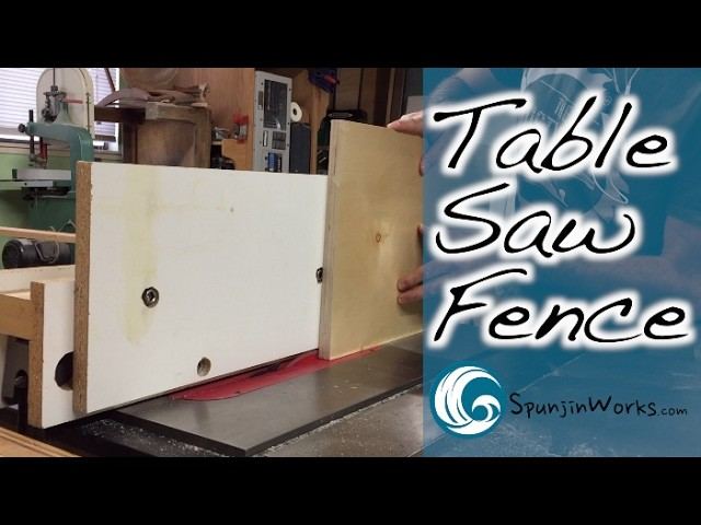Flush Trimming Table Saw Fence. How-To (Ep. 64)