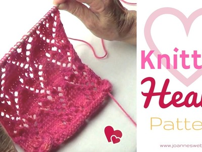 Heart Knitting Pattern | How to Knit Hearts