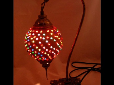 How to Add Beads to a Gourd Lamp