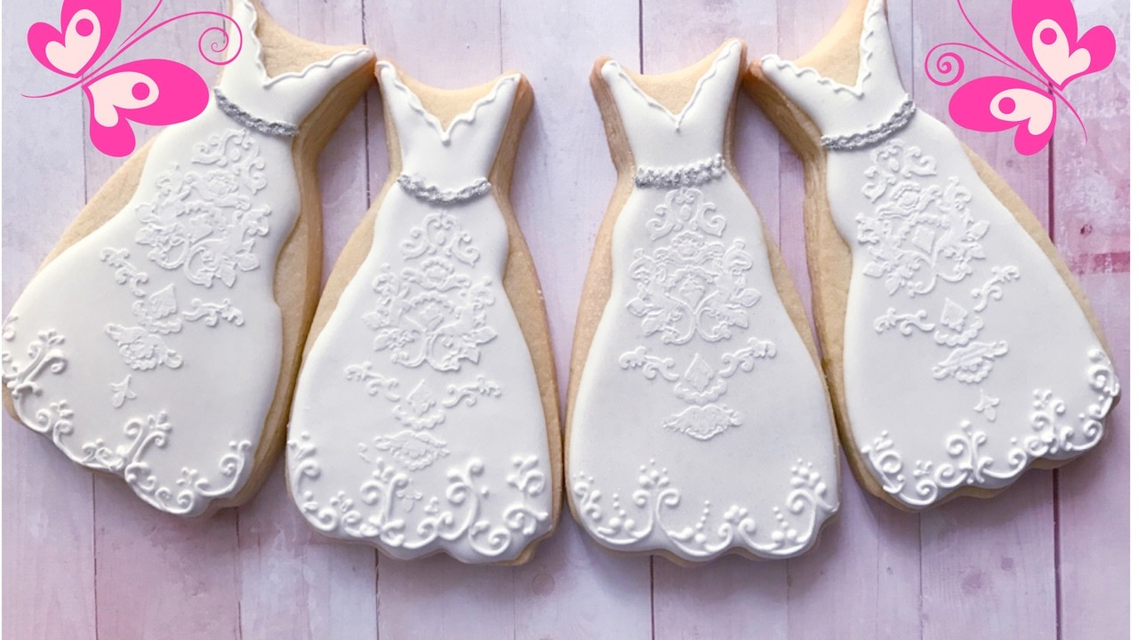How to decorate Wedding cookies. ????????????