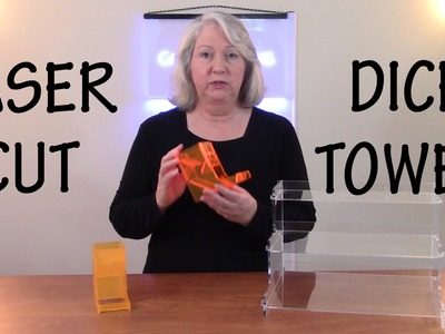 How to Design and Laser Cut a Dice Tower