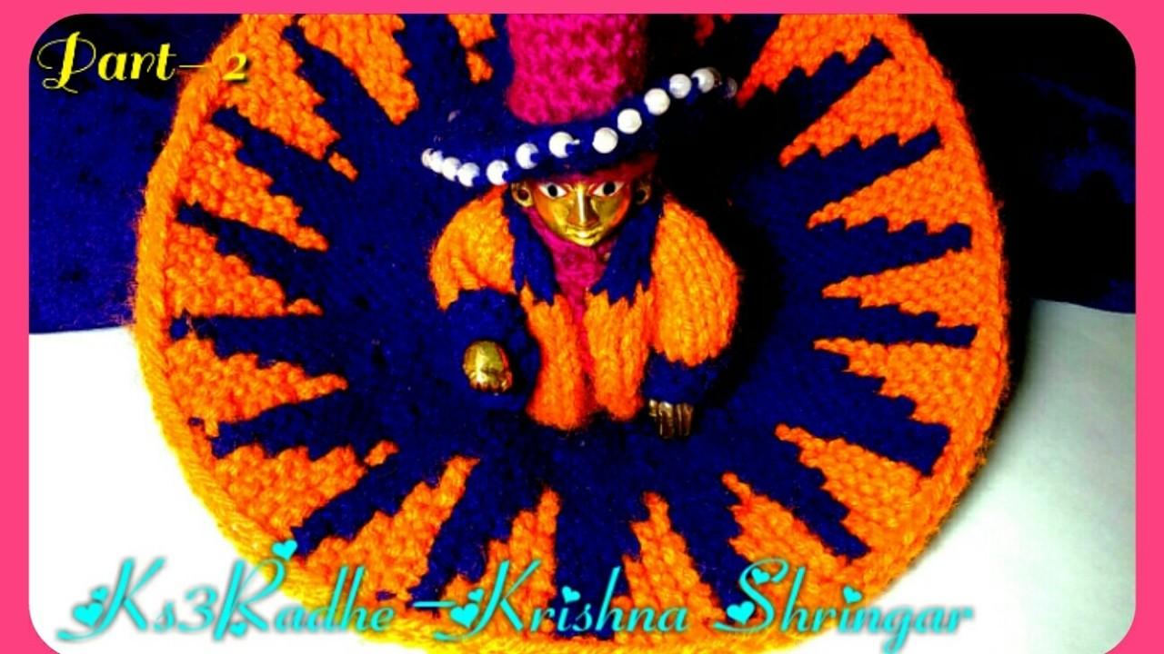 How To Knitting 2 Needle Salai Flower Dress Poshak For