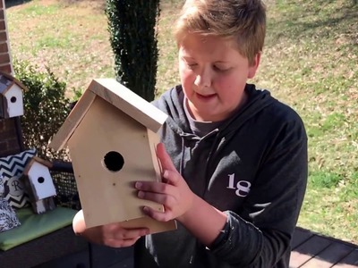 HOW TO MAKE A BIRDHOUSE!!!