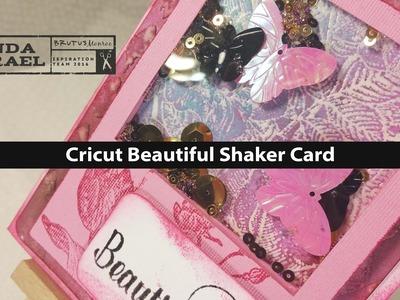How to make a Cricut Beautiful Shaker Card