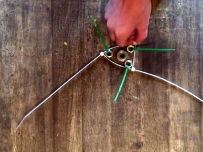 how to make a fidget spinner with cable ties