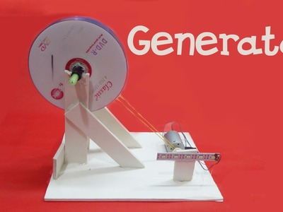 How to make a Generator at home - Easy - how to make windmill generator at home simple and easy way