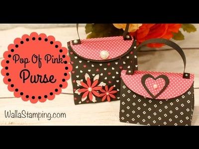 How To Make A Purse Gift Bag