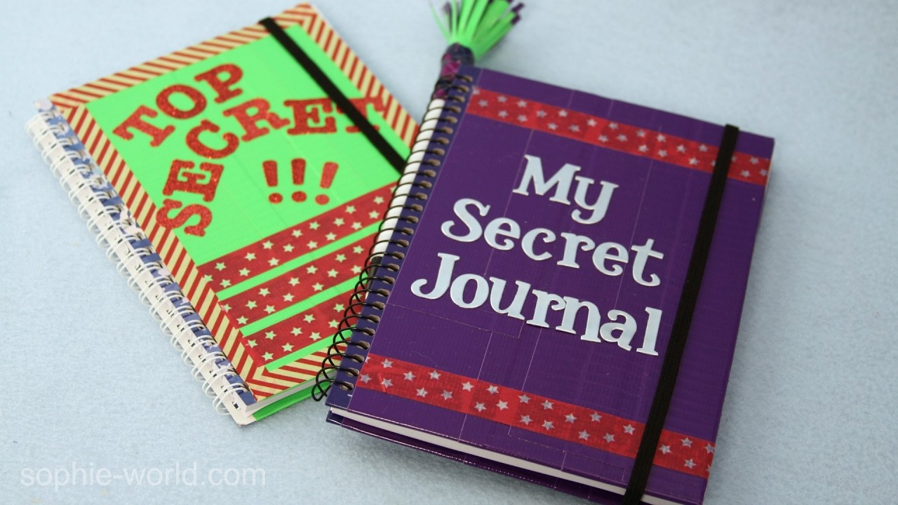 How to Make a Super Secret Diary   Sophie's World
