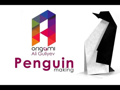 How to Make an Easy Origami Penguin ????????
