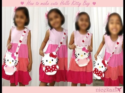 How to make Cute Hello Kitty Bag